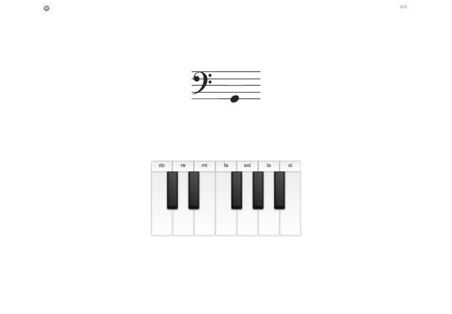Do Note :: Online music note totur
