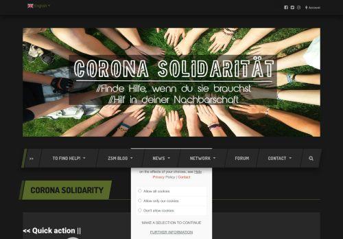 Corona Solidarität