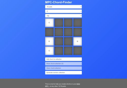 MPC-Chord-Finder