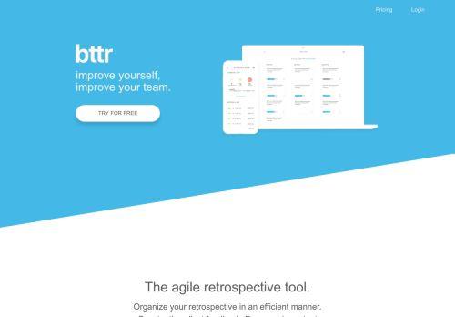bttr - agiles retrospective tool