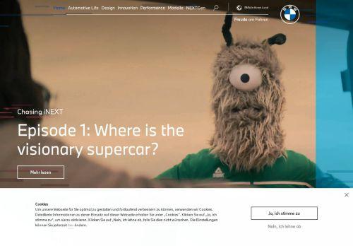 BMW.com   Web International