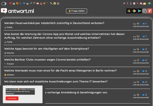 Frage & Antwort Community - antwort.ml