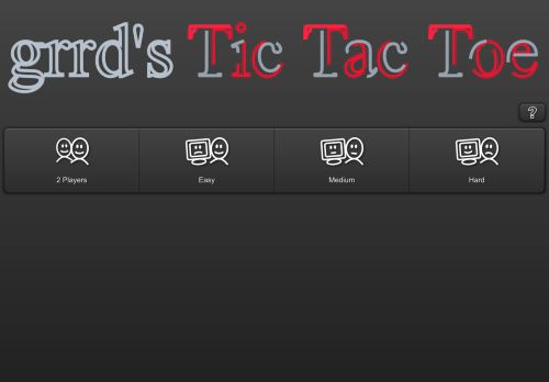grrd's Tic Tac Toe