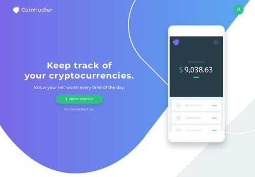 Coinhodler - Ein einfaches Portfolio für alle Kryptowährungen