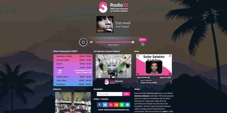 Radio 3S by SolarSoundSystem