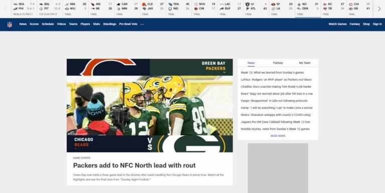 NFL.com - Offizielle Seite der National Football League