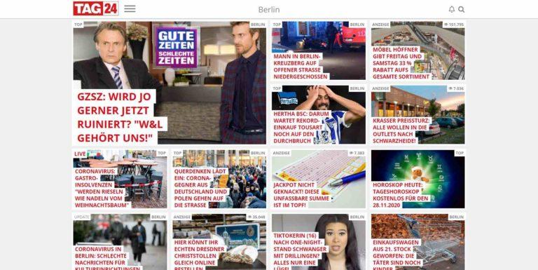 TAG24 | Aktuelle Nachrichten aus Deiner Region | Was jetzt alle lesen