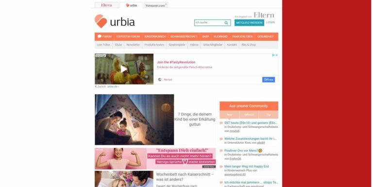 Urbia - Wir lieben Familie - urbia.de